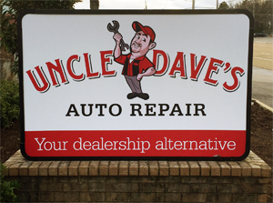 Uncle Dave's serves your auto needs